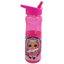 MGA LOL Surprise Rock Drinks Bottle, 600ml Water Juice Travel School Kids Pink