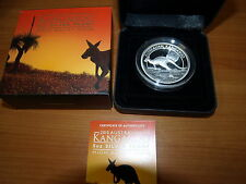 Australia Australia 2015 5 OZ Kangaroo canguro high relief SILVER PROOF $8