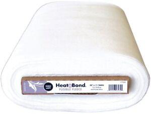 1m x 50cm Heat n Bond Fusible Fleece - High Loft - Iron On Bag Making