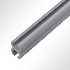 Kunststoff Doppelkederschiene PVC Kederverbundprofil Vorzeltkederschiene 3 Meter