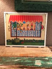 Vintage Panel From 1970 Barbie Surpise House