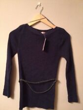 Awear Navy Ribbed Jumper