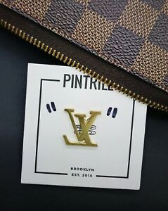 PINTRILL Reverse LV Pin to Honor Virgil Abloh *EXCLUSIVE* BRAND NEW SEALED