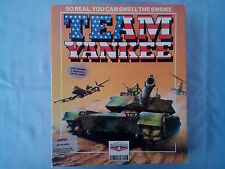 TEAM YANKEE per COMMODORE AMIGA PC - BIG BOX ITALIANO - COMPLETO COME NUOVO