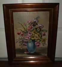 A BEAUTIFUL VINTAGE OIL PAINTING BY  JANET GREENLEAF
