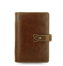 New Filofax Personal Size Malden Organiser Planner Diary Ochre Leather - 025808