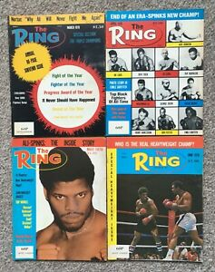 Boxing - 'The Ring' Magazine - 8 Issues - 1978