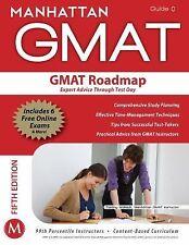 The GMAT Roadmap: Expert Advice Through Test Day (Manhattan GMAT Strategy Guide