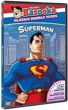 30 LOT (CASE) SEALED SUPERMAN BAZOOKA CLASSIC TOONS W JOE INTERACTIVE GAME  DVD