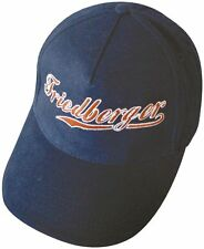 (68895) BASEBALLCAP mit Stick - FRIEDBERGER - NEU Cap Kappe Baumwollcap