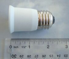 E27 to E27 Short  Extension Light Lamp Adapter Converter US Standard Socket