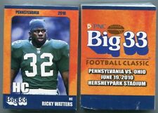 2010 Penn PA Big 33 FACTORY SEALED set w/ RANDOM AUTO Penn State, PITT, more