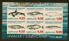 GREENLAND : 1996 Whales series 1 Miniature Sheet SGMS302 unmounted mint