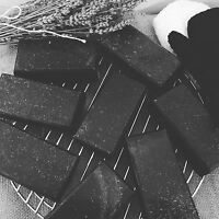 ACTIVATED CHARCOAL COLLAGEN Anti Wrinkle Exfoliating Soap With Vitamin C