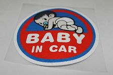 Cute Baby In Car baby on board Car Safety Decal sticker