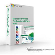 MS Microsoft Office 2019 Professional Plus 1PC Original 64/32-Bit für Windows 10