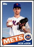 Jacob deGrom 2020 Topps 1985 35th Anniversary 5x7 #85-66 /49 Mets