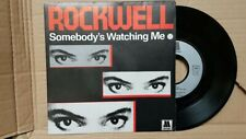 Rockwell – Somebody's Watching Me 45T NM/NM Motown – ZB 61313