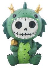 New Furrybones Furry Bones Tatsu Skull Skeleton Green Dragon Figurine Gift 9031
