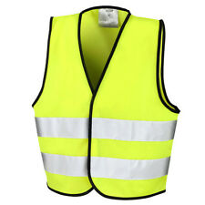 Result Core Kids Junior Kinder Safety Vest Sicherheitsweste Neongelb S M L Neu