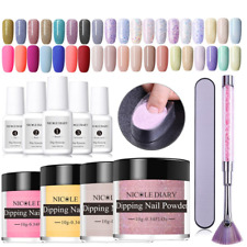 Dipping Nail Powder Kits Nude Dip Nail Glitter Powder Luminous Matte Gradient