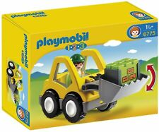 Playmobil 6775 1.2.3 Excavator Kids First Construction Building Set Toy