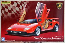 1975 Lamborghini Countach Wolf Vers. 1 1:24 Aoshima 049600
