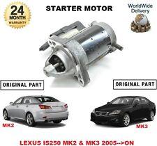 FOR LEXUS IS250 MK2 & MK3 2005-->ON NEW ORIGINAL STARTER MOTOR