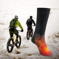 chaussettes chauffantes électriques puissance de la batterie coton thermique