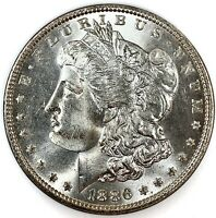 1886 United States Silver Morgan Dollar - NGC MS65