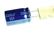 10pcs Panasonic  M 2200uF 35v   Radial Electrolytic Capacitor