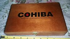COHIBA Toro Wood Hinged Cigar Box EXCLUSIVE Stash Tobacco