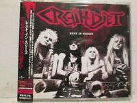 Crashdiet - Rest In Sleaze 2005 Universal Japan Edition with OBI Rare OOP HTF