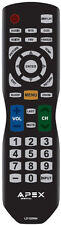 NEW APEX LD100RM REMOTE FOR Apex TVs LE4643 LE5043 TV--30 days warranty!