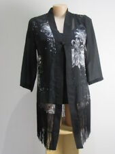 TAKING SHAPE XXS ( 12-14 ) FRINGE KIM0NO DRESS JACKET BNWTs ) RRP $169