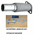 91362H FORD KA 1.3 1.6 10/02- Manifold Catalytic Converter Repair FLEXI Pipe