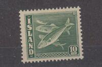 Iceland 1939 10 Aur Cod SG247a/Mi215b MLH JK1935