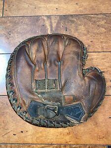 1920's Catchers Mitt Baseball Glove