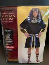 New Gods & Goddesses Egyptian Costume Adult Plus XXL Halloween Cosplay