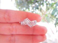 1.28 Carat Baguette Cut Diamond Ring PT900 HE51 sep *