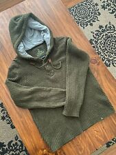 Prana Sweater Henley Hoodie EUC Super Soft Size Large