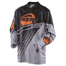 MSR Racing Grey Orange Black M16 Axxis Jersey adult Medium offroad MX motocross