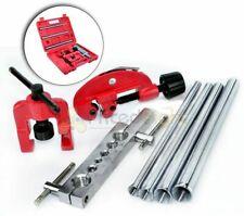 7 PC Flaring Tool Kit Set Flare Cutter Pipe Bending Bender HVAC Automotive Case