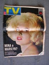 TV SORRISI e CANZONI # 10 - 11 MARZO 1962 - MINA O MARILYN MONROE?