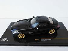 LORINSER SLS AMG RSK8 2011 1/43 IXO MOC118 Mercedes-Benz Black Mercedes
