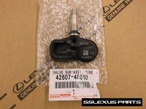 Lexus LS500 (2018-) OEM Genuine TIRE PRESSURE (TPMS) SENSOR 42607-48010