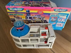 Micro Machines Highways and Byways Super Auto World Playset