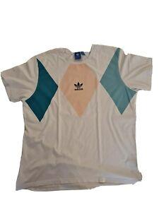 Adidas Retro Vintage T Shirt Weiß XL NEUWERTIG!!!