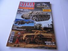 STEEL MASTERS ISSUE 49 - MILITARY HISTORY WARGAMING MAGAZINE