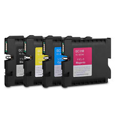 KMYC 4pcs Ricoh Gc31 Sublimation Ink Cartridges for Gxe2600/e3300n/e3350n/e5050n